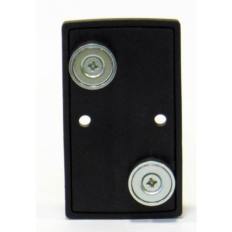 Magnetische wandplaat voor het fixeren van een 50 mm afzet band/lint-1