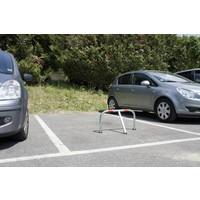 thumb-Arceau de parking + cadenas - 755 x 355 x Ø 38 mm-2