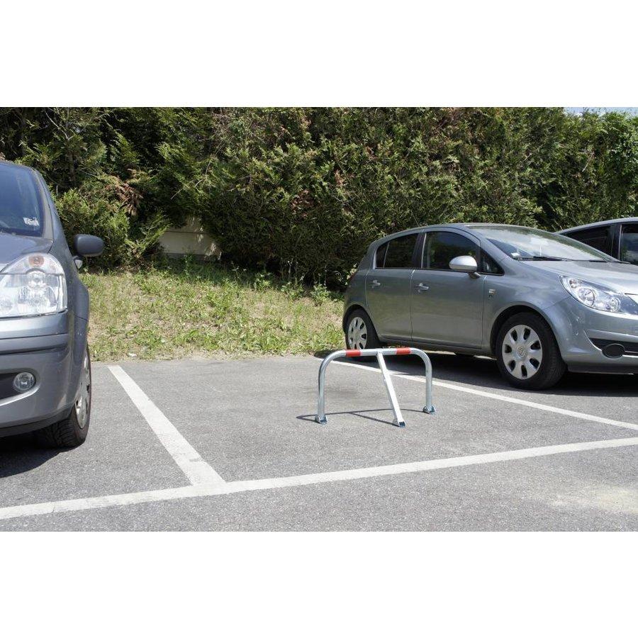 Arceau de parking + cadenas - 755 x 355 x Ø 38 mm-2