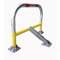 thumb-Arceau de parking avec ressorts et serrure cylindrique 970 x 405 x 650 mm Ø 60-1