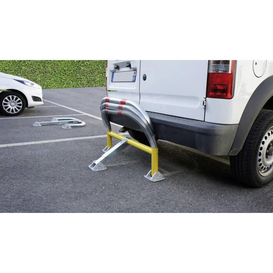 Arceau de parking avec ressorts et serrure cylindrique 970 x 405 x 650 mm Ø 60-2