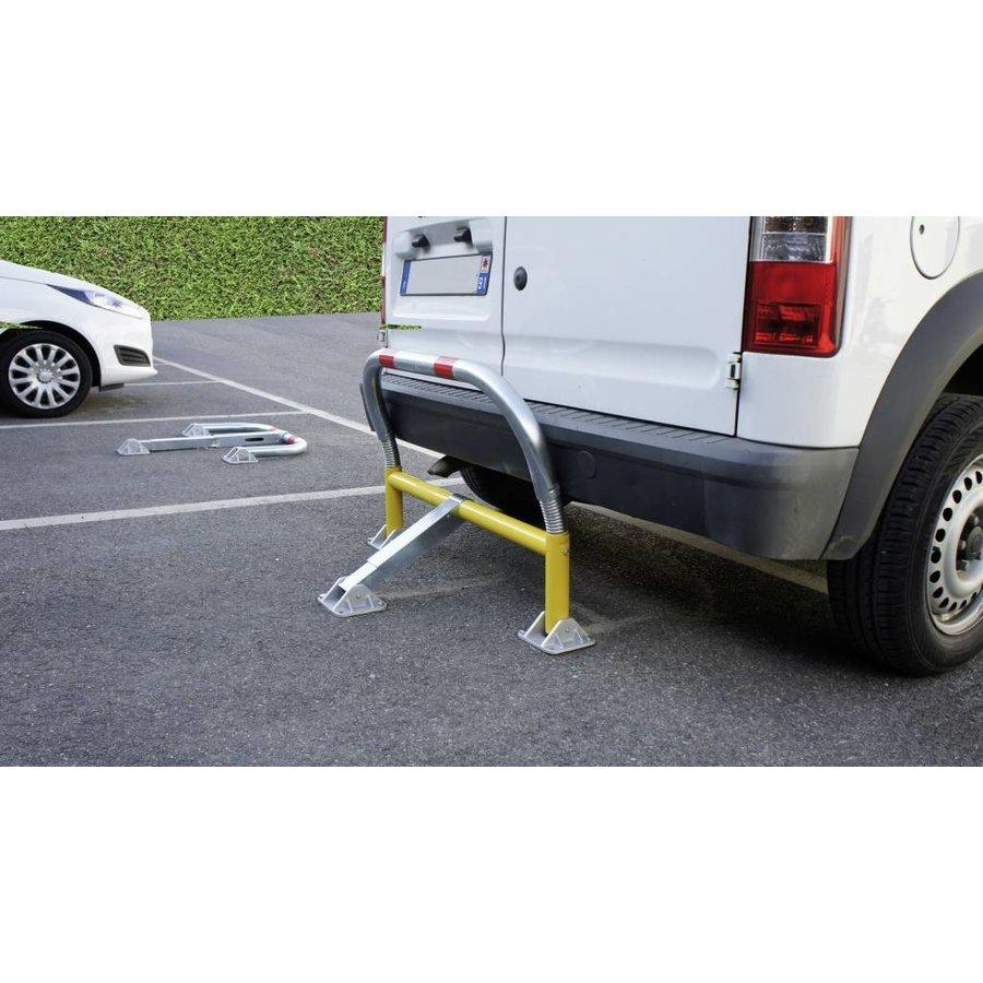 Arceau de parking avec ressorts et serrure cylindrique 970 x 405 x 650 mm Ø 60-3