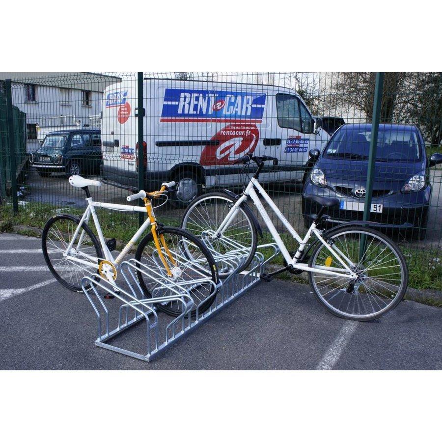 Dubbelzijdig fietsenrek voor 8 of 10 fietsen-3