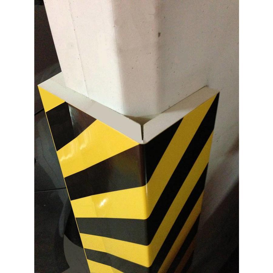 Rubberen stootrand voor hoekbescherming in garages. parkings ...-4
