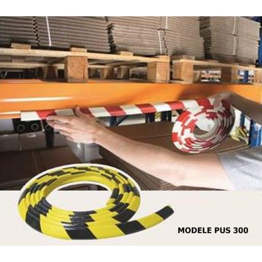 Rubberen stootrand voor hoekbescherming in garages. parkings ...-3