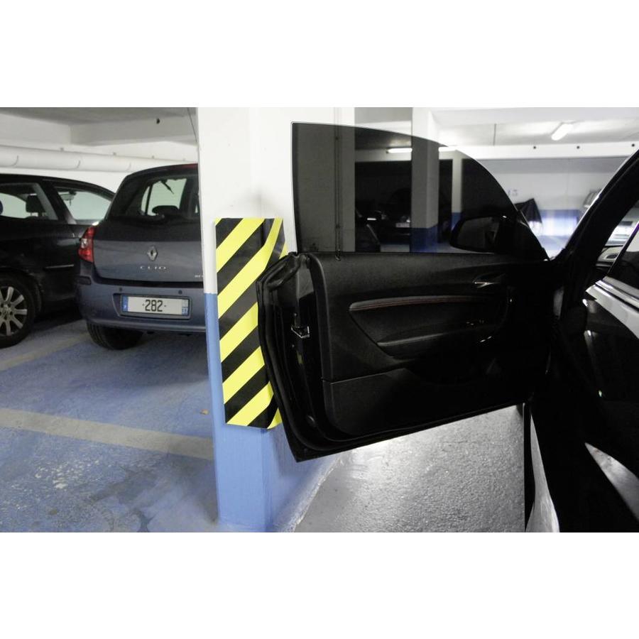 Rubberen stootrand voor hoekbescherming in garages. parkings ...-5