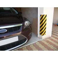 thumb-Rubberen stootrand voor hoekbescherming in garages. parkings ...-6