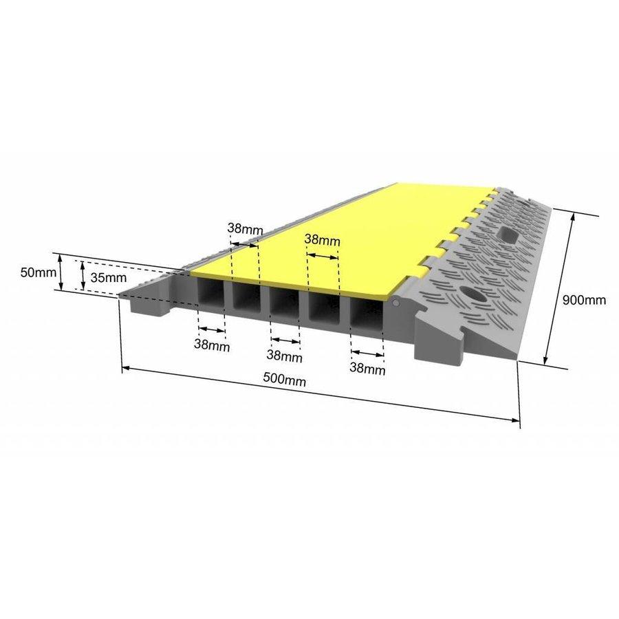 Passe-câble avec couvercle - DELUXE-2
