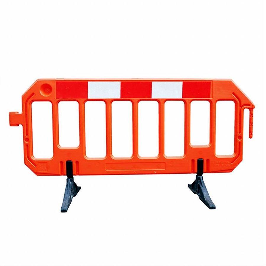 Barrière de chantier Gatebarrier orange 1000 x 2000 mm-1