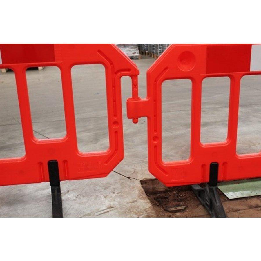 Barrière de chantier Gatebarrier orange 1000 x 2000 mm-3