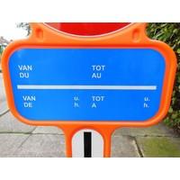 thumb-Panneau interdiction de stationnement - PEHD avec film réfléchissante-3