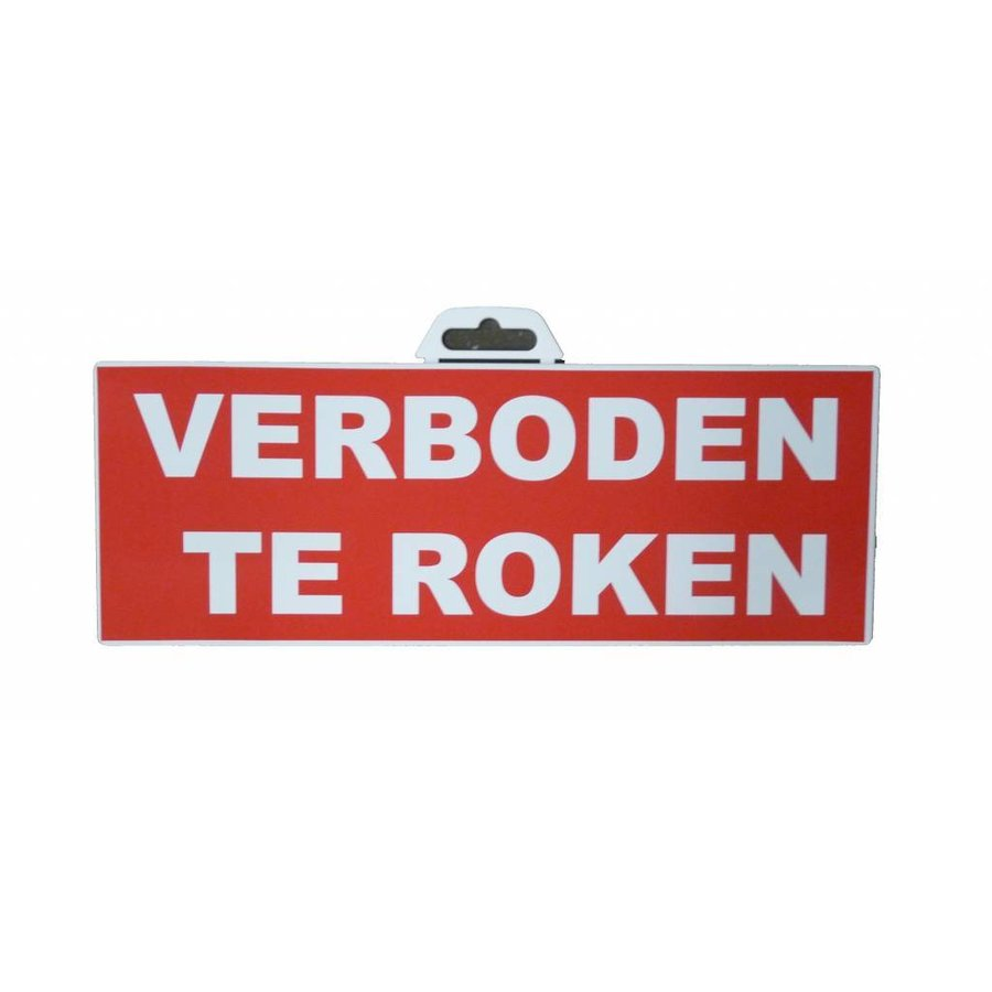 Pictogram 'Verboden te Roken' 330 x 120 mm-1