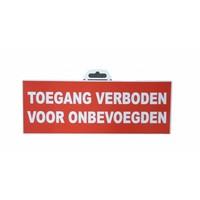 thumb-Panneau 'Entrée interdite aux personnes non autorisées'-1