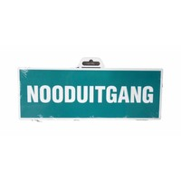 thumb-Pictogram 'Nooduitgang' 330 x 120 mm-1