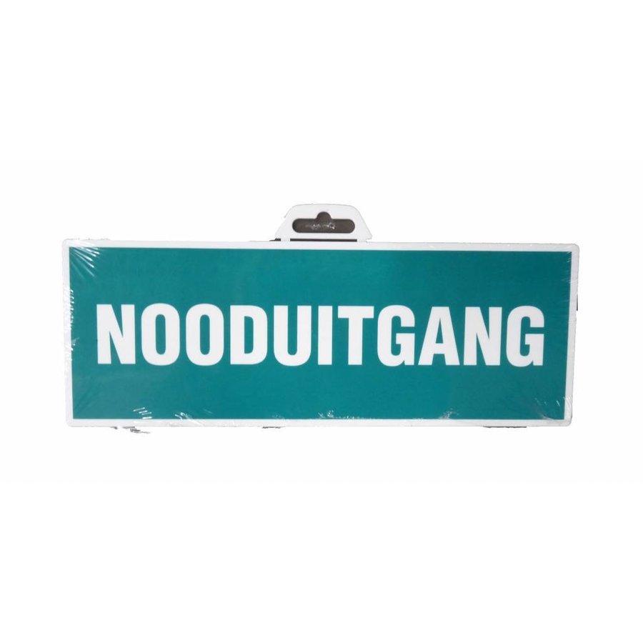 Pictogram 'Nooduitgang' 330 x 120 mm-1