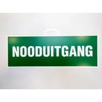 thumb-Pictogram 'Nooduitgang' 330 x 120 mm-2