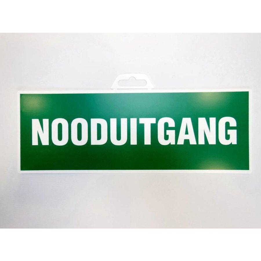 Pictogram 'Nooduitgang' 330 x 120 mm-2