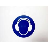 thumb-Panneau 'Protection de L'oreille Obligatoire ' Ø 180 mm-2