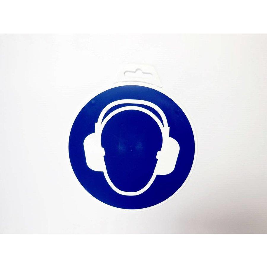 Panneau 'Protection de L'oreille Obligatoire ' Ø 180 mm-2