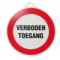 thumb-Pictogram 'Verboden Toegang' Ø 300 mm-1