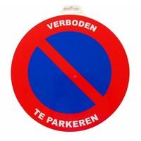 thumb-Panneau 'Interdiction de stationner ' Ø 300 mm-1
