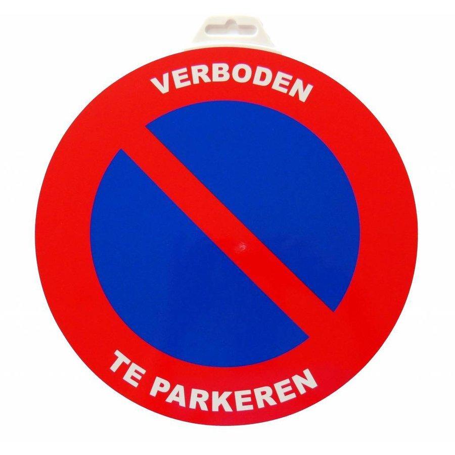 Pictogram 'Verboden te Parkeren' Ø 300 mm-1