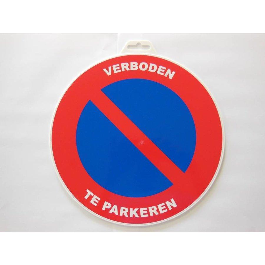 Panneau 'Interdiction de stationner ' Ø 300 mm-2