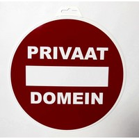 thumb-Pictogram 'Privaat Domein' Ø 300 mm-2