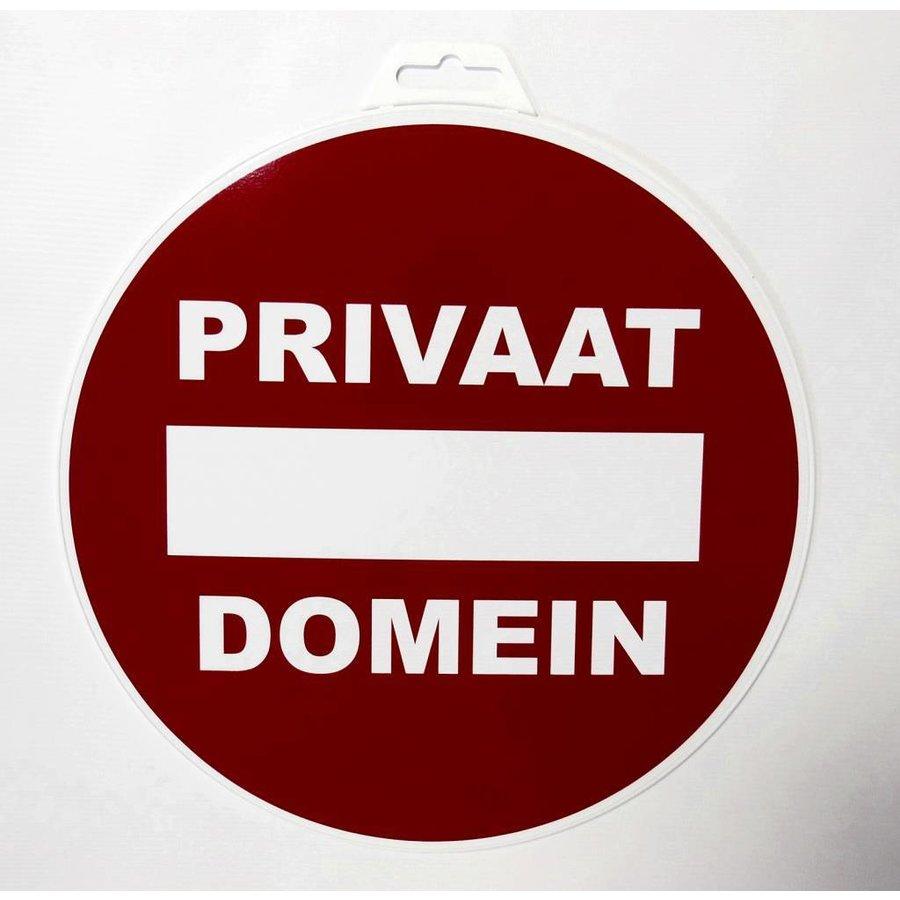 Panneau 'Domain privé' Ø 300 mm-2