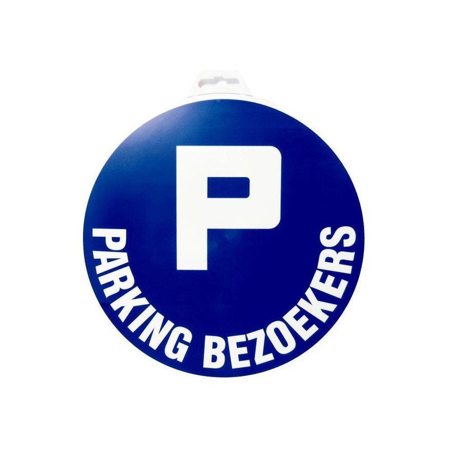 Panneau 'Parking Visiteurs'' Ø 300 mm-1