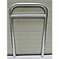thumb-Arceau à vélo avec barre transversale 600 x 1050 - acier galvanisé-1