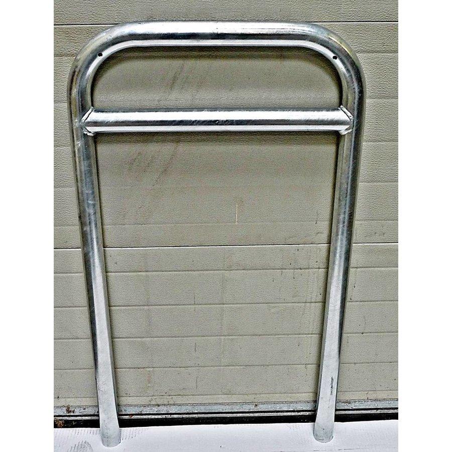Arceau à vélo avec barre transversale 600 x 1050 - acier galvanisé-1