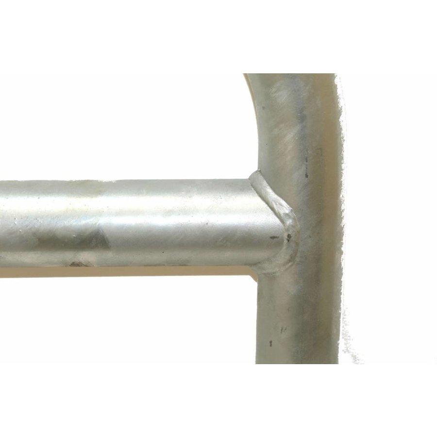 Fietsbeugel met tussenbuis 600 x 1050 - gegalvaniseerd-2