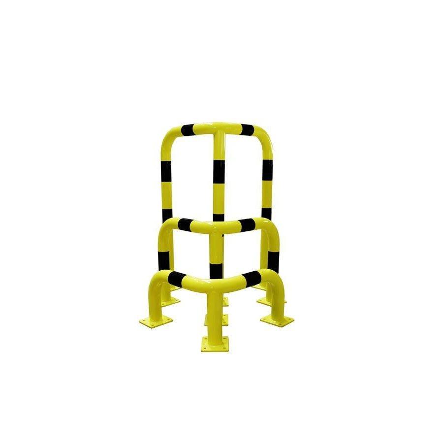 Arceau de protection d'angle en acier - Ø 76 mm-2