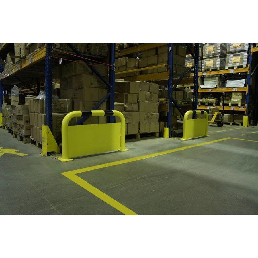 Beschermingsbeugel met doorrijbeveiliging in staal-6