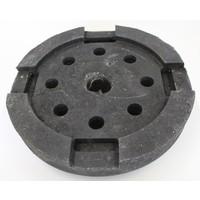 thumb-Socle rond en pvc 15 KG-2