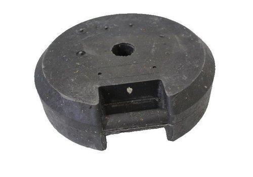 Socle ronde 25 kg