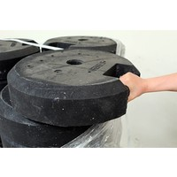 thumb-Rond voetstuk 25 kg uit gerecycleerde kunststof-4