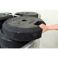 thumb-Socle ronde 25 kg en PVC recyclé-4