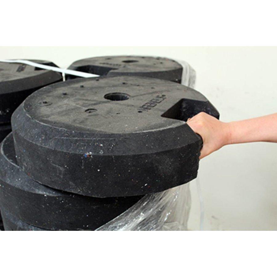 Socle ronde 25 kg en PVC recyclé-4