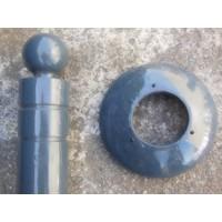 thumb-Potelet 'LAGUNE' Gris Ral 7016-3