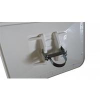 thumb-Miroir de circulation 'TRAFFIC DELUXE' 600 x 800 mm - rouge/blanc-2