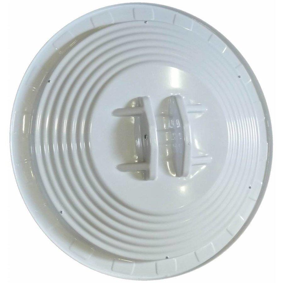 Miroir de circulation 'TRAFIC DELUXE' (Rond) 800 mm - rouge/blanc-2