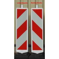 thumb-Balise de chantier type 2 ( k5c) - 250 x 1000 mm-2