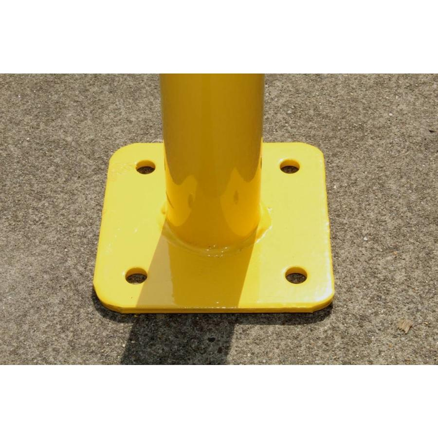 Barrière de protection en acier avec traverse - Ø 60 mm-6