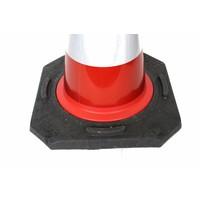 thumb-Cône de signalisation entièrement réfléchissant -  50 cm-5