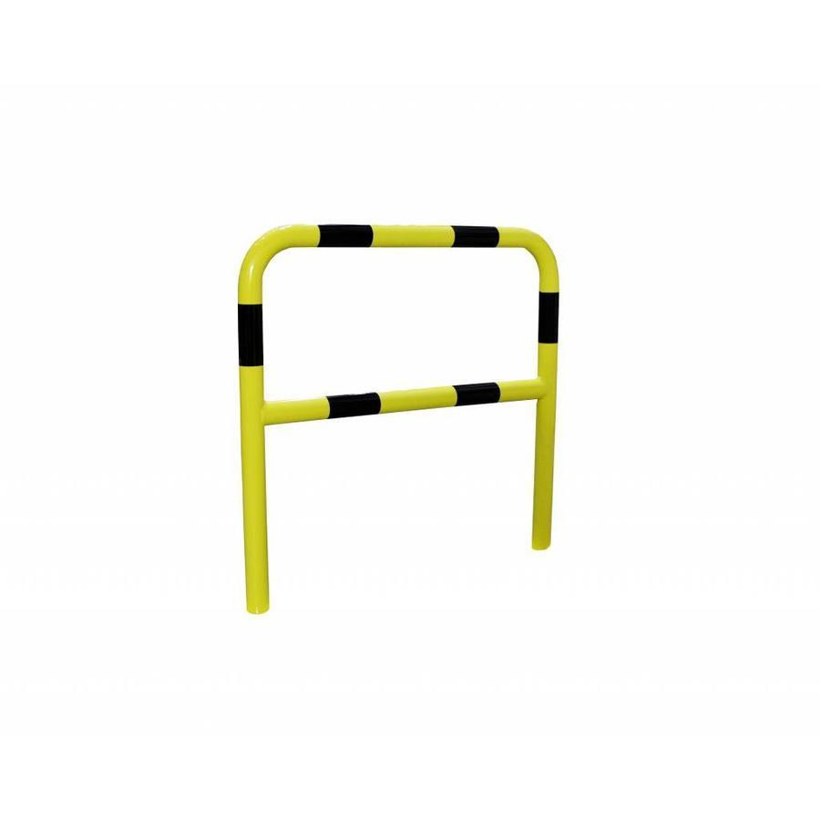 Barrière de protection en acier avec traverse - Ø 60 mm-3