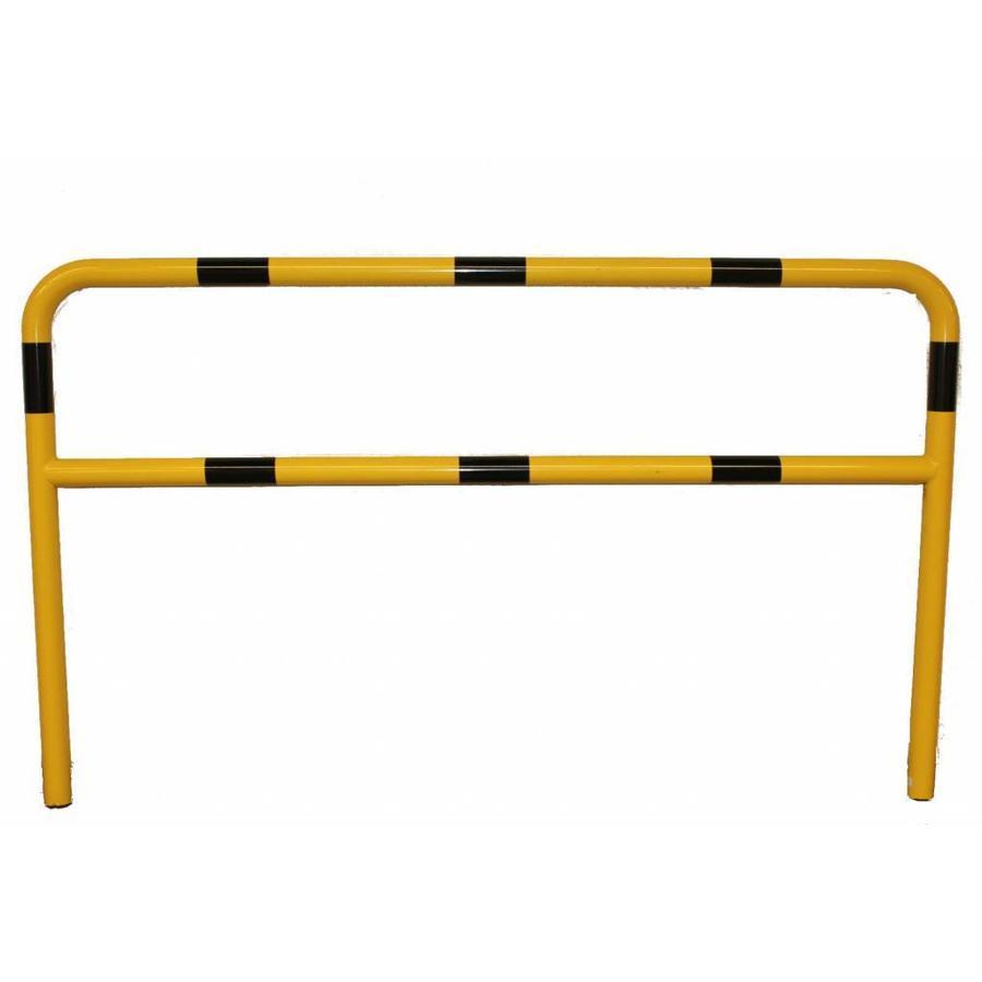 Barrière de protection en acier avec traverse - Ø 60 mm-4