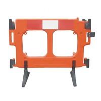thumb-Barrière de chantier Clearpath orange 1000 x 1000 mm-1