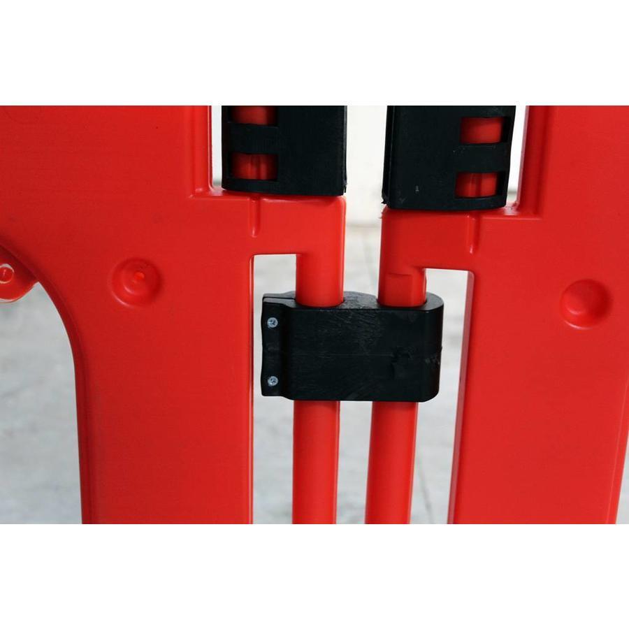Barrière de chantier Clearpath orange 1000 x 1000 mm-3